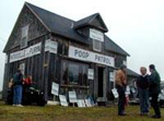 Photo: The Poop Patrol Headquarters building - Pigs, Poop and Politics
